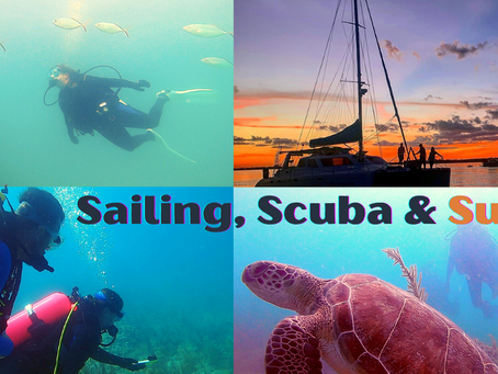 The Best of Both Worlds - Sail & Scuba Trips Aboard SV Lost Cat.