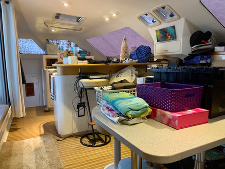 1 Month Living Aboard a Catamaran