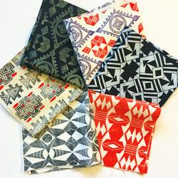 Hand printed pillowcases