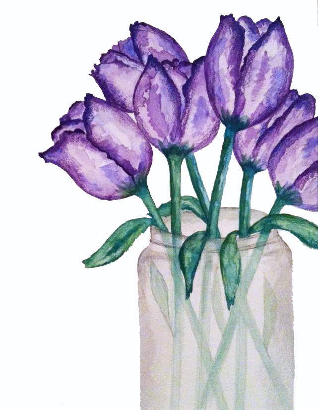 Tulips Painting