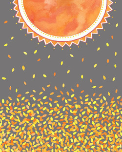Drops of Golden Sun