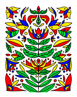 Scandinavian Floral