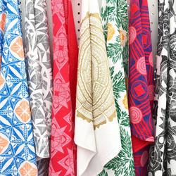 Hand Printed Towels