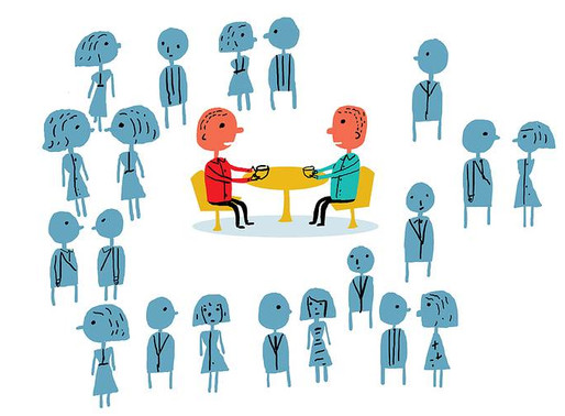 NETWORKING IS NOT ABOUT BEING SOCIALLY ACTIVE.IT IS ABOUT BEING SOCIALLY PARTICIPATIVE