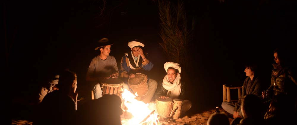 Camp-fire-and-traditional-drum-music_Sou