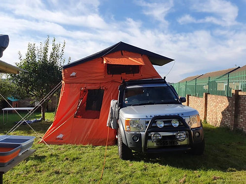 Orange Diesel 410 family roof tent