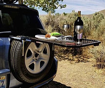 tire table roof tents