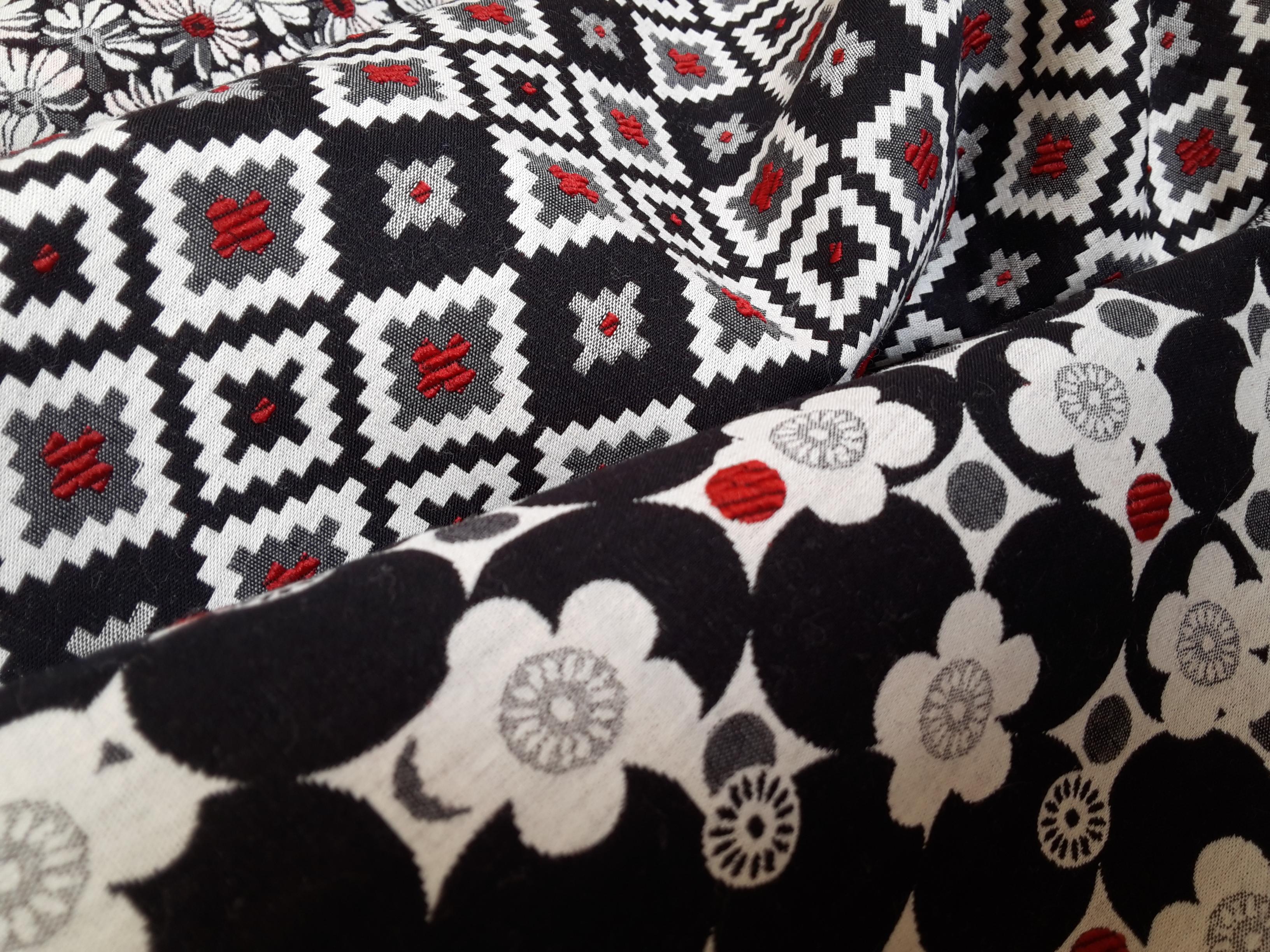 yarn-dyed jacquard