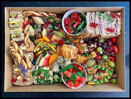 Picnic platter! Serves 4-6 until they're