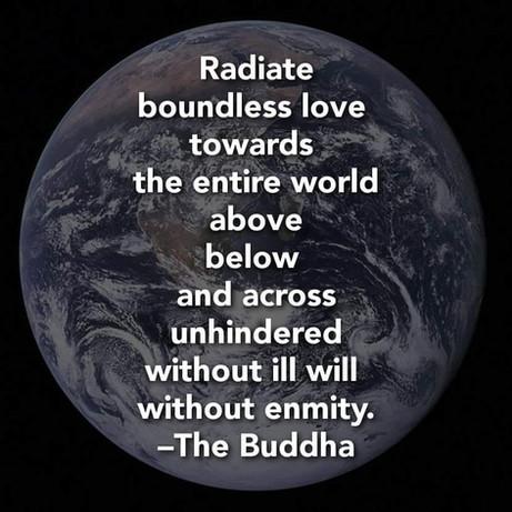 Always Radiate Love