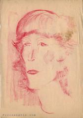 Портрет молодй женщины