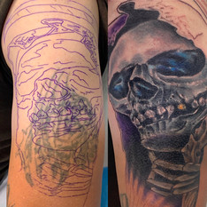 IN PROGRESS: Cover up