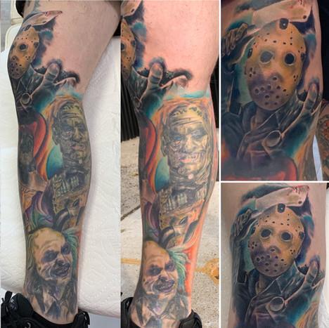 Horror Leg Sleeve