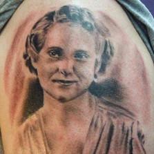 Portrait of His Mom