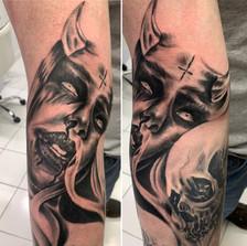 Skulls and Demon Chick