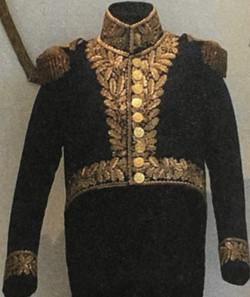 Détails de l'uniforme du Général Joseph Barbanègre