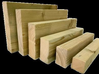 Sawn Tanalised C24 Timber