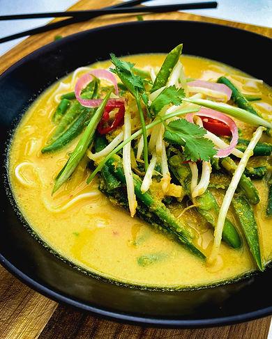 Singapore Style Vegetable Laksa