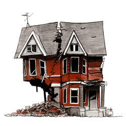 Detroit House #17, 2018