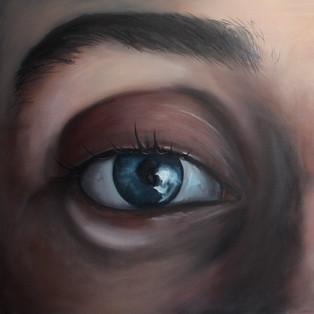Detail of Clock Eye