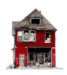 Detroit House #11, 2018