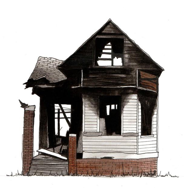 Detroit House #16, 2018