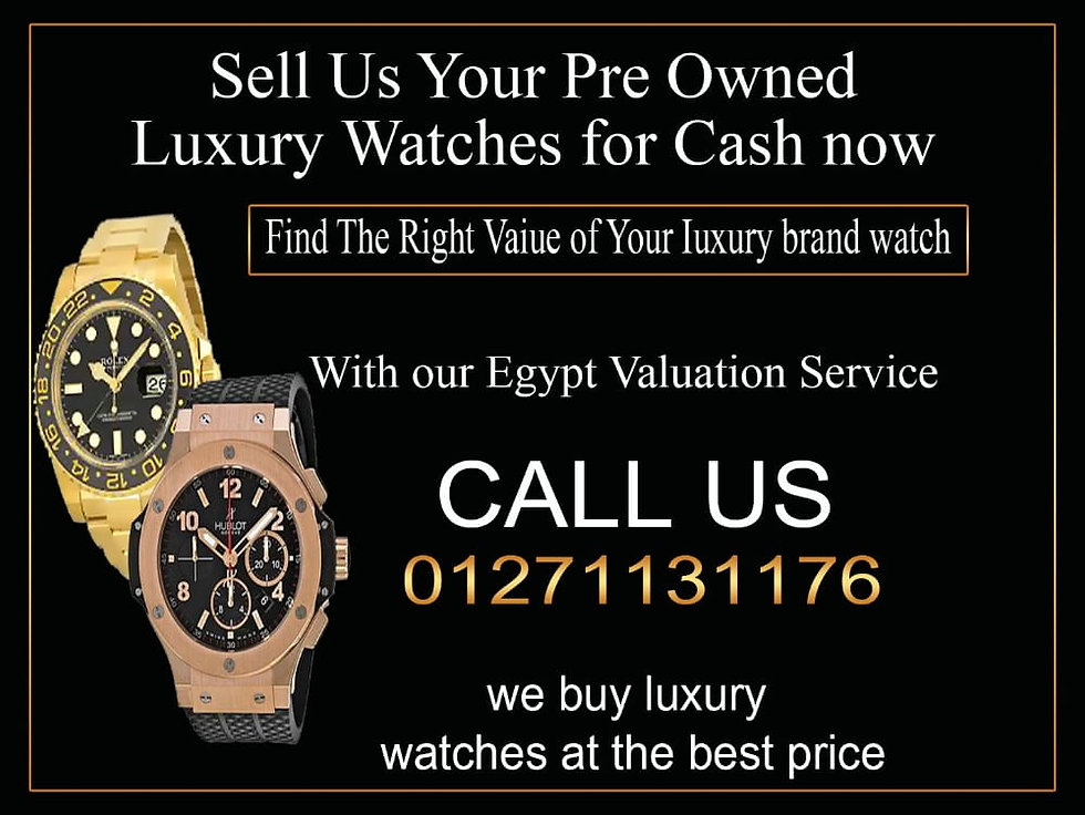 sell us your pre owned watches for cash