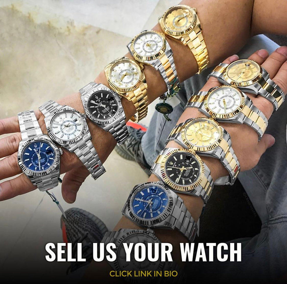 buy & sell pre-owned luxury watches in egypt