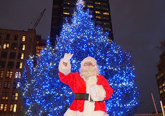 Santa Claus at Soho Trees
