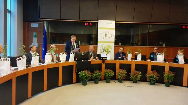 Mr Marc Van Hulle at the European Parliament on the Ceremony to commemorate the 25th anniversary of ENA