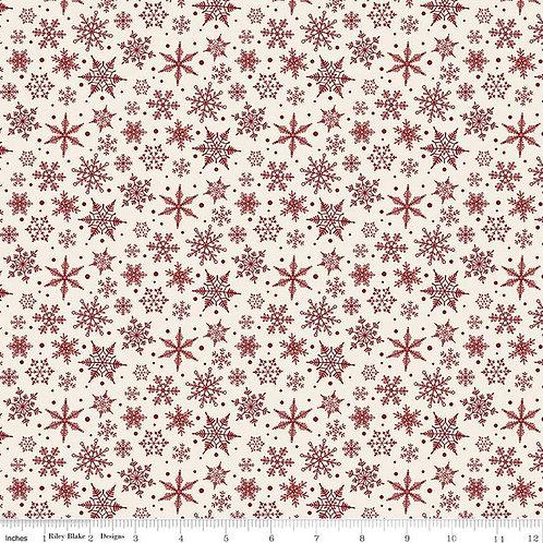 Christmas Traditions Snowflakes Cream