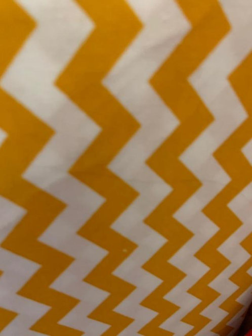 Chevron Orange - 1/2 inch