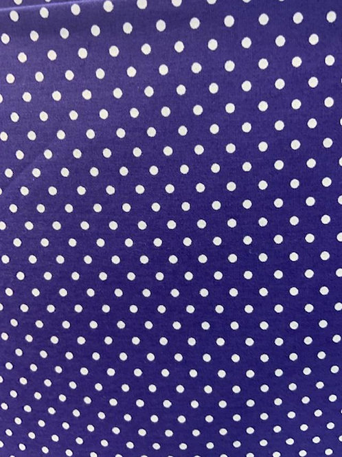 Small White Dots on Purple