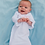 Thumbnail: Baby Gown With Ruffle