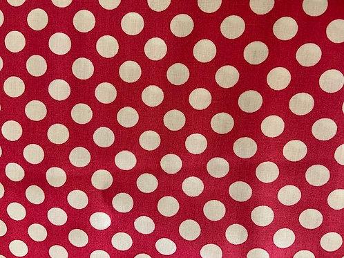 Medium Dots Hot Pink
