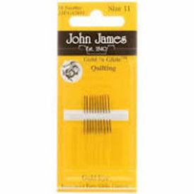 John James Quilting Needles Size 11