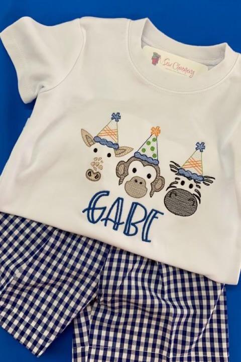Zoo Birthday Shirt