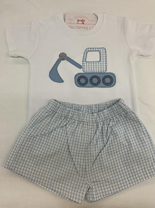 Excavator short sleeve shirt