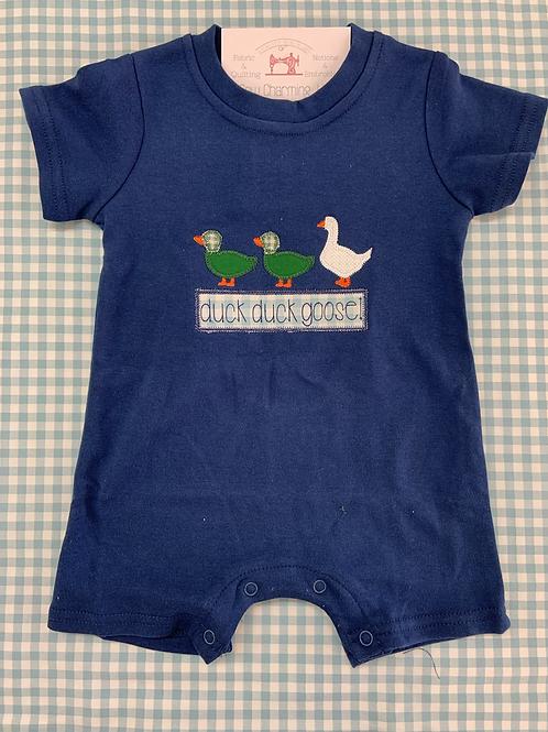 Duck duck goose romper