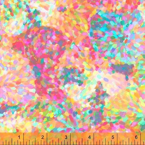 Impressionist Floral 51796D-4