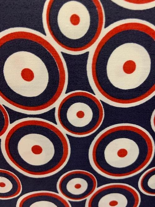 Red White Blue Bullseye