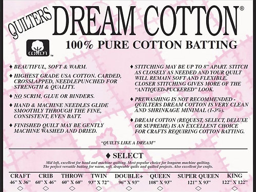 Quilters Dream Select Queen