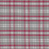 Red, Gray, and White Plaid