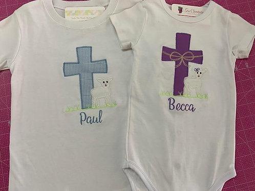 Boy or Girl Easter Shirt or Onesie