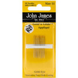 John James Applique Needles Size 11