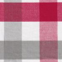 Red, Gray, and White Check