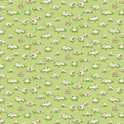 Harmony Hog Wash Green - Flannel