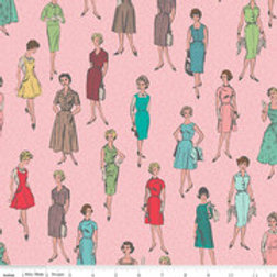 My Happy Place Home Decor Vintage Ladies Pink