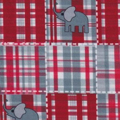 Elephant Plaid