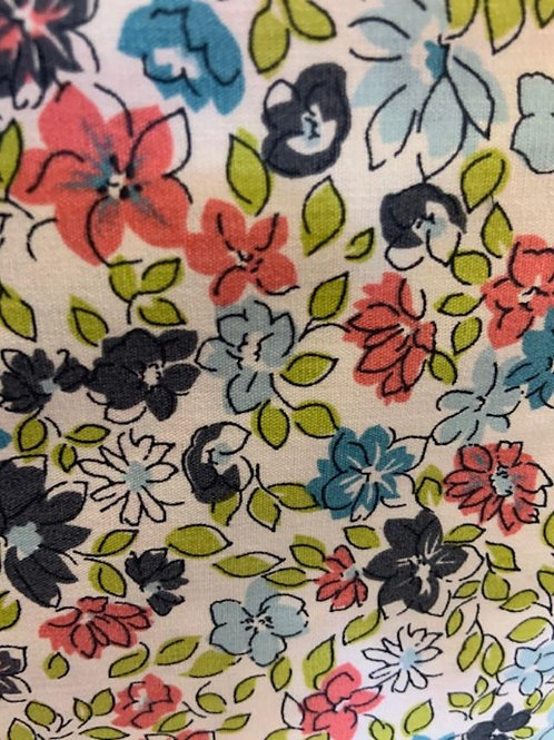 Small Old School Floral